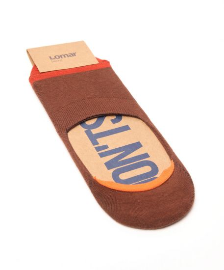 Boat Sock - Brown | Orange #3