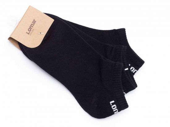 Short Sock Set of 3 pairs - Black | gray #13