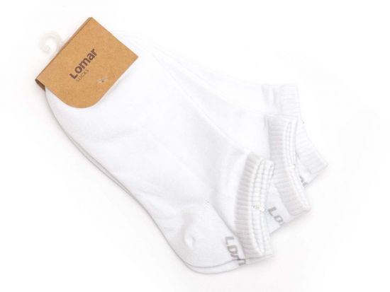Short Sock Set of 3 pairs - white #12