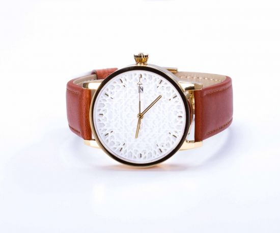 Lomar Watch - White
