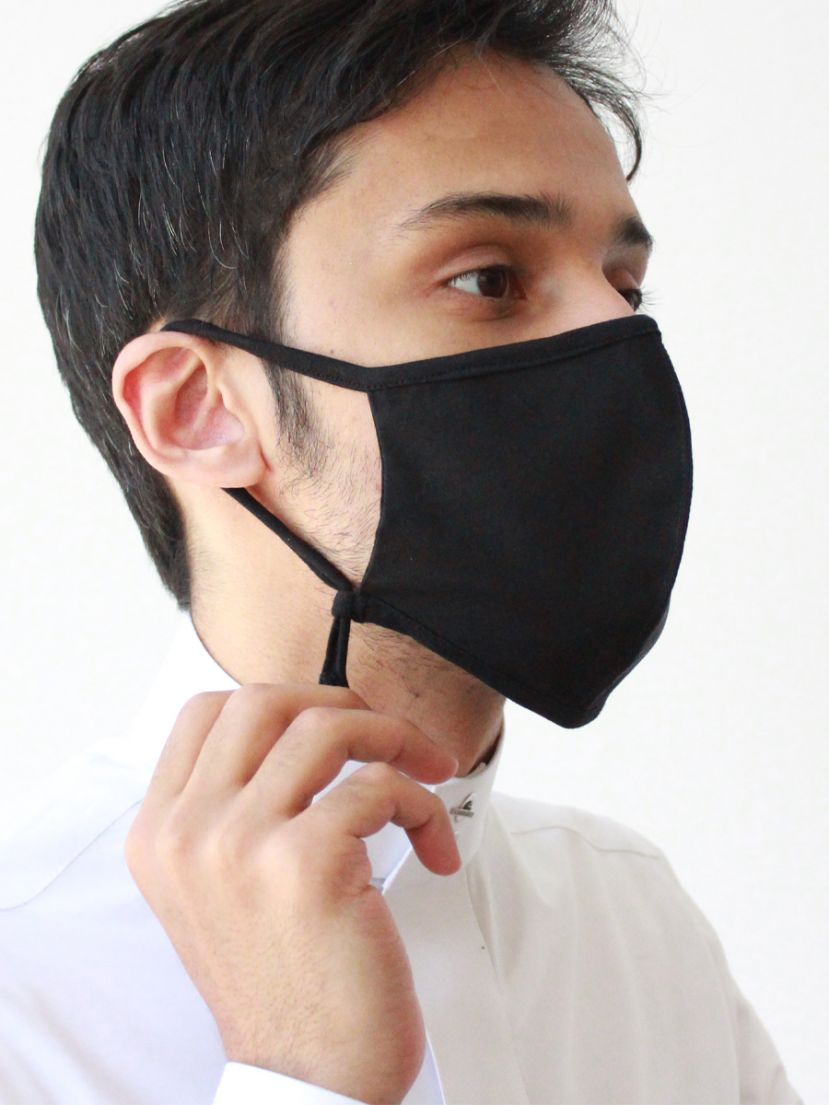 Lomar Mask Black adjustable