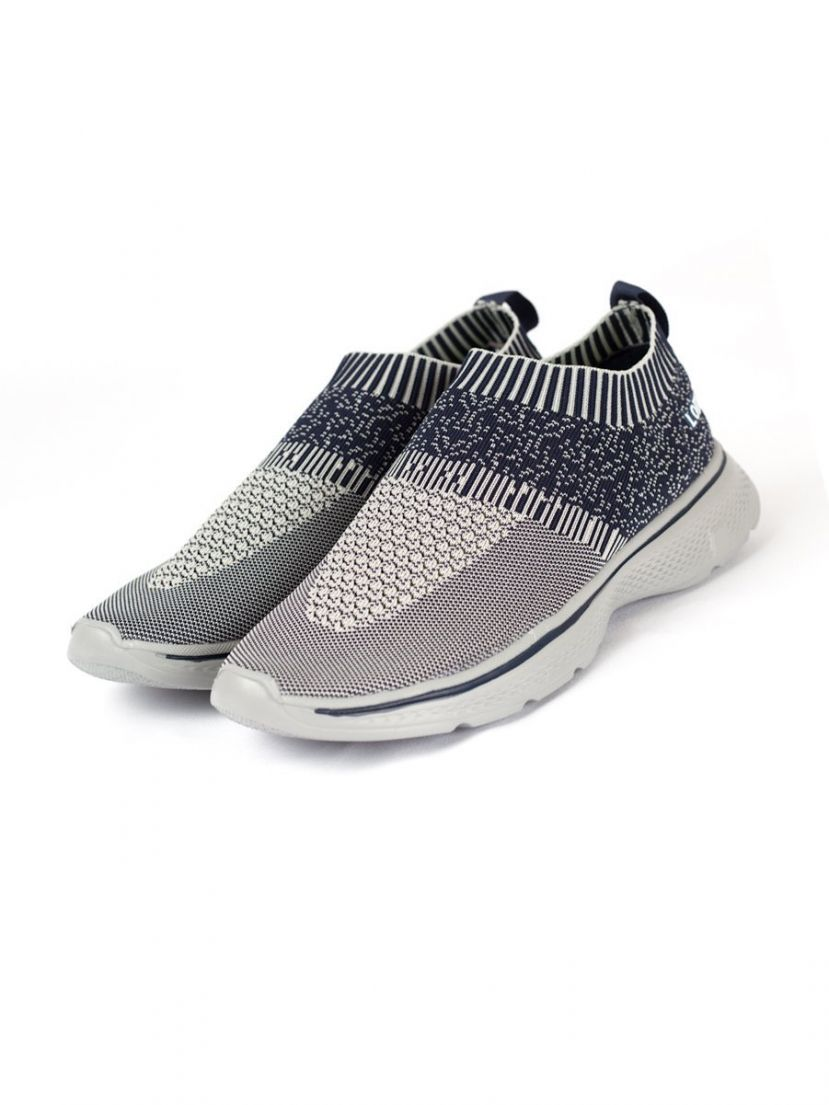 Lomar Sport Shoes - Gray | Navy