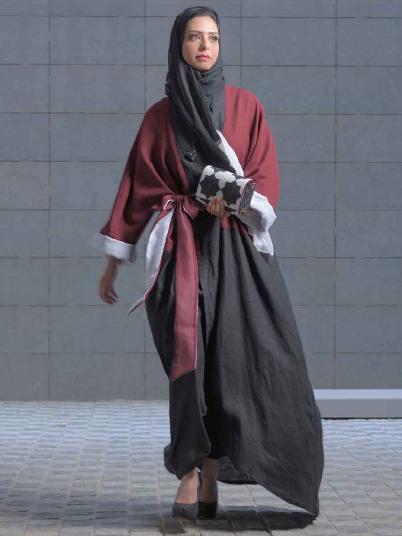 Casual Abaya with besht fabric #193