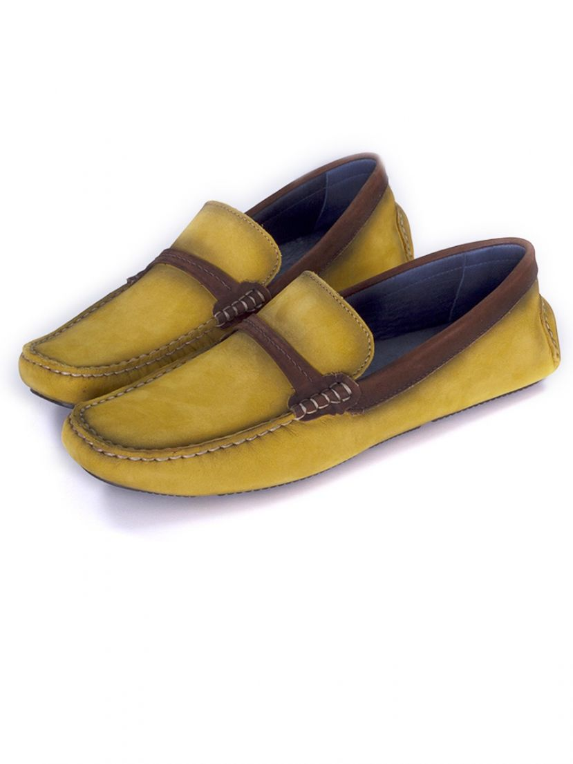 Lomar shoes Chamois - Yellow